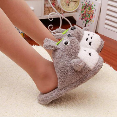 The New Cute Cartoon Home Cotton Slippers | TeresaClare