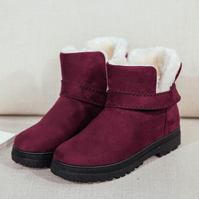 Warm Cotton Snow Boots Platform Retro | TeresaClare