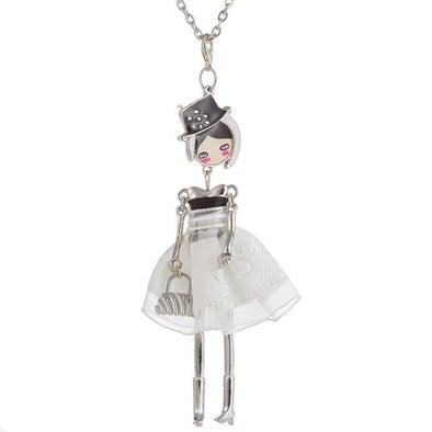 White Cute Fashion Dolls Necklaces For Women | TeresaClare