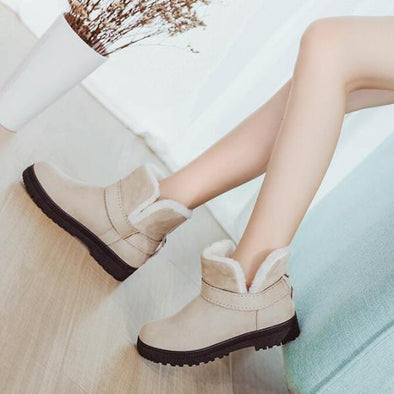Winter Fashion Warm Snow Ankle Boots Cotton | TeresaClare