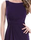 Women's Mermaid Purple Elegant Sleeveless Evening Dress. | TeresaClare