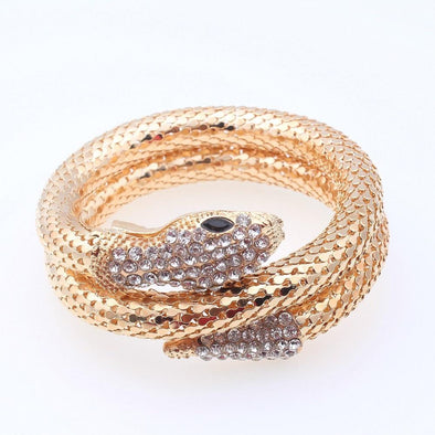 Women's Punk Snake Bangle Bracelets Stretch | TeresaClare