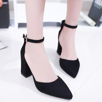 Women's Shoes Summer New High Heels Fashion Suede Pumps | TeresaClare