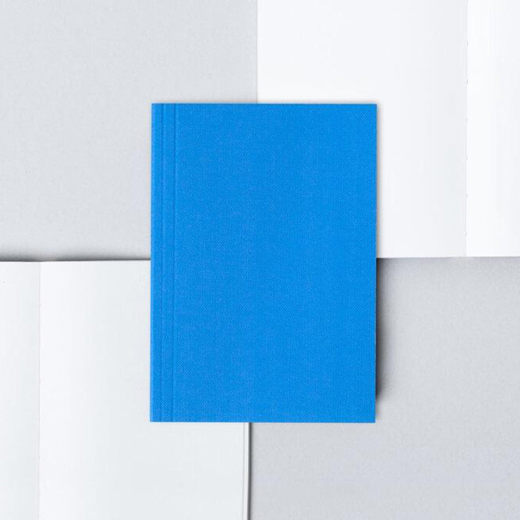 Layflat Pocket Notebook - Blue