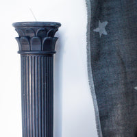 Hestia Blue Column Candle