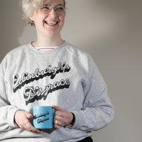 Edinburgh's Disgrace designed by Mick Peter Mug Blue for Collective Matter Artist Edition National Monument Calton Hill