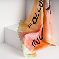 Follow Our Rules, Silk Scarf