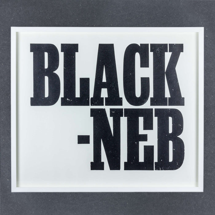Ruth Ewan, Black Neb, 2013