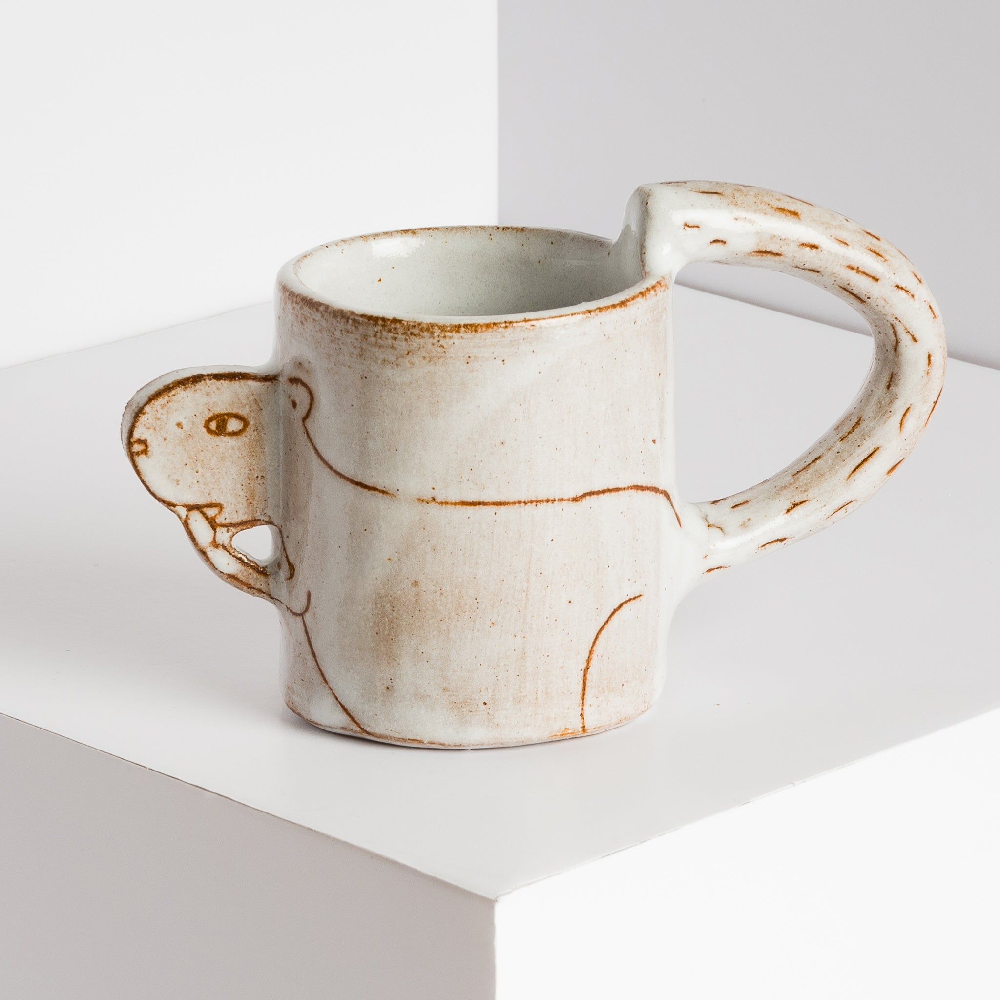 Ceramic Squirrel Mug