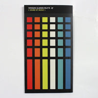 Palette Label Sticker Set - Sound of Music