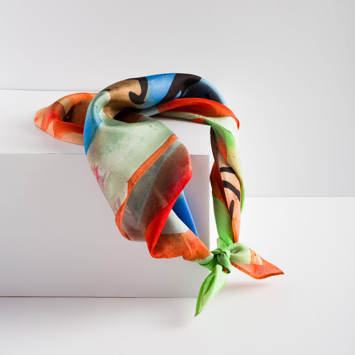 Every Day Here We Go, Silk Scarf