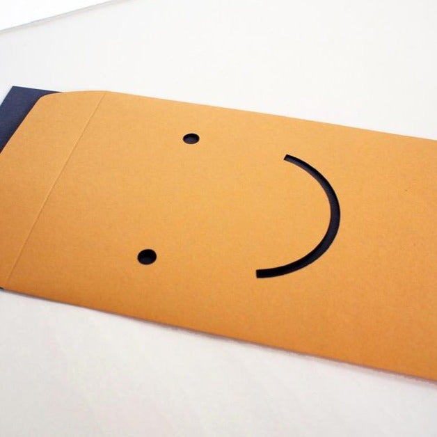 Happy Post Notecard and Envelope