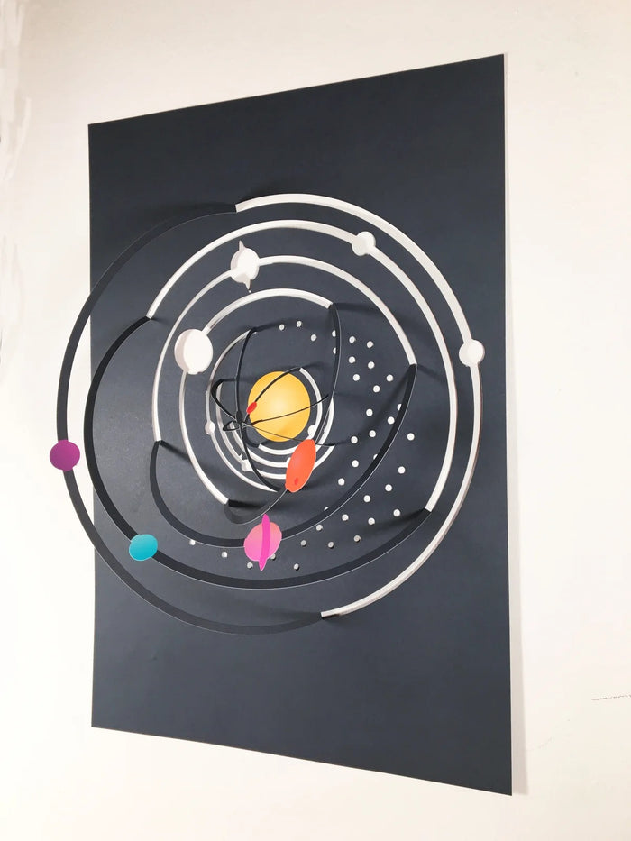 Solar System Fold-Out Poster