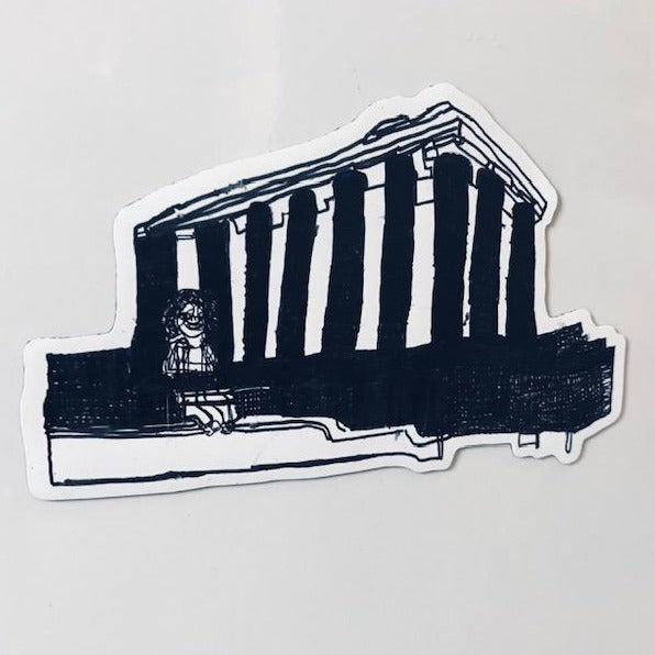 National Monument Cut-out Vinyl Magnet