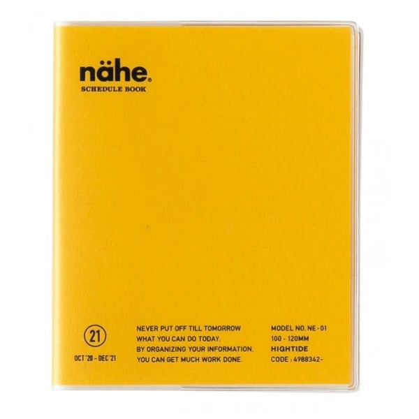 Hightide Nahe 2021 Diary - Golden Yellow