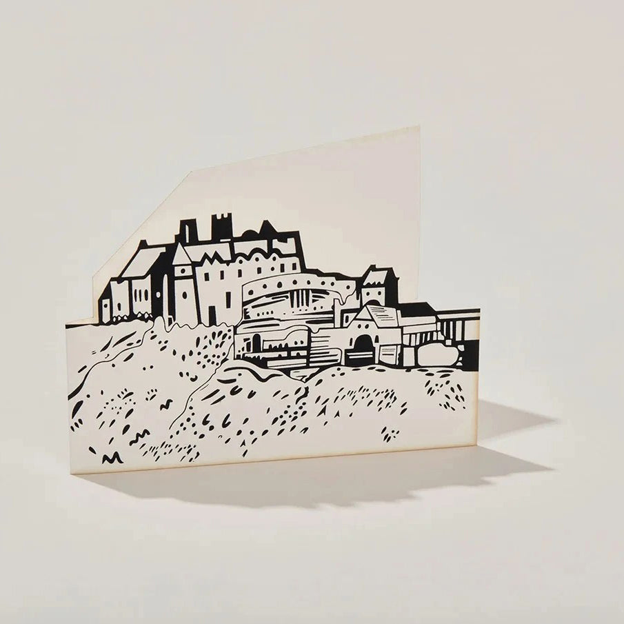 Edinburgh Castle Cut-out Card