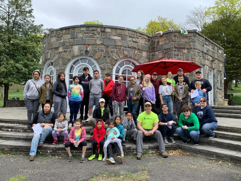 Ronald Zorrilla leads volunteer day at Downing Park in Newburgh, NY