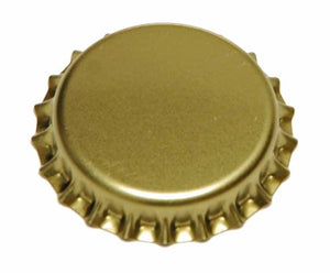Plain Gold Crown Caps