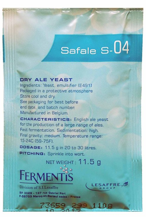Safale S-04 * Ale Yeast