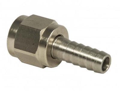 "1/4"" OD Barbed Swivel Nut Assembly"
