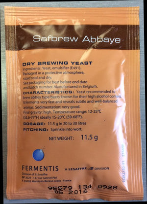 SafAle BE-256 Abbaye Ale Yeast