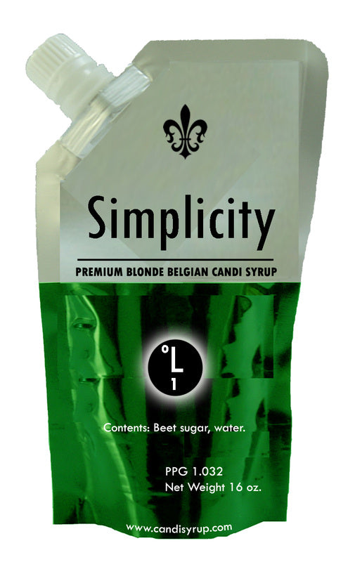 Simplicity Candi Syrup