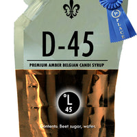 D-45 Premium Amber Candi Syrup