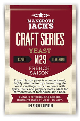 Mangrove Jack's M29 French Saison Dried Yeast