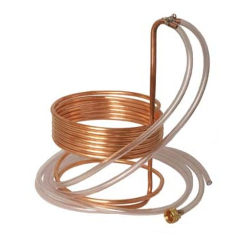 "Wort Chiller - Immersion Chiller (25' x 3/8"" With Tubing)"