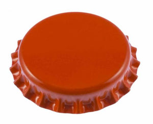 Orange Oxygen Absorbing Crown Caps