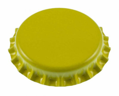 Yellow Oxygen Absorbing Crown Caps