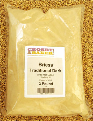 Briess Traditional Dark Dried Malt Extract 3lb