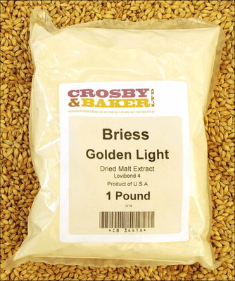 briess golden light dried malt extract 1lb