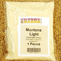 Muntons Light Dried Malt Extract 1lb