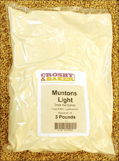 Muntons Light Dried Malt Extract 3lb