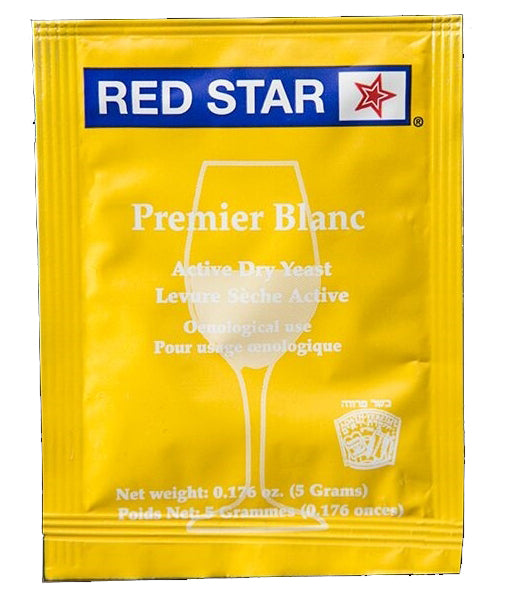 Red Star Pasteur Blanc (Champagne) Yeast