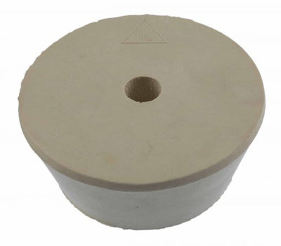 Drilled Rubber Stopper #11.5