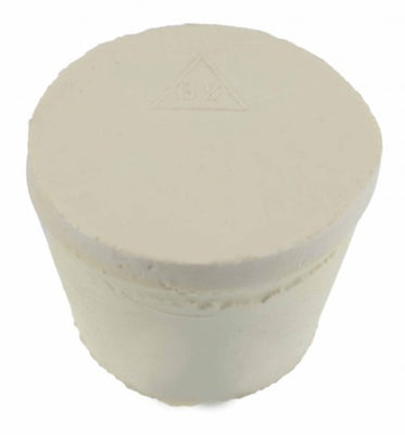 Solid Rubber Stopper #6.5