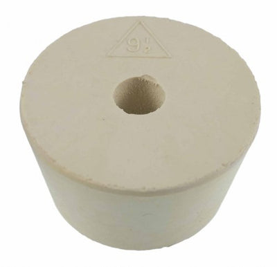 Drilled Rubber Stopper #9.5