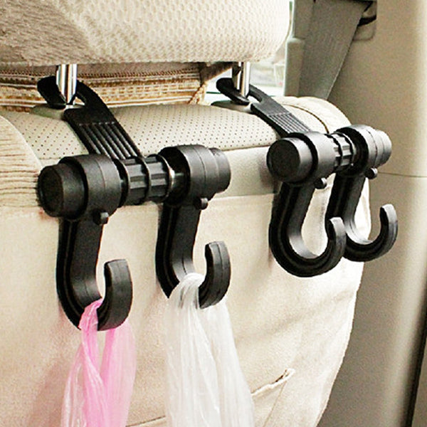 Grocery Bag Headrest Hook