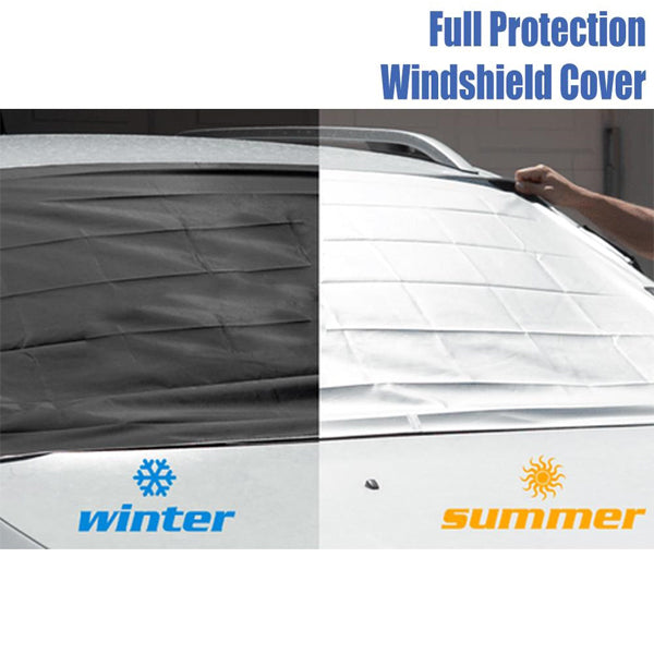 Magnetic Full Protection Windshield Cover
