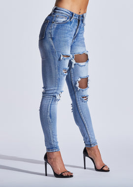 Hellcat Ripped Denim