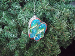 Flip Flops Coastal Christmas Ornament