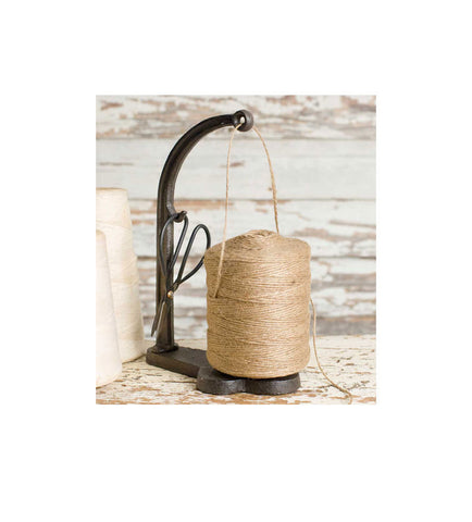 Cast Iron Twine & Scissors Holder Set