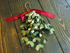 Mistletoe Hanging Bouquet