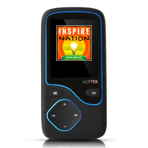 PRE-LOADED Bluetooth MP3 Player, Perfect for Car Stereos & Commutes! Super Light-weight, Simple & Fast!