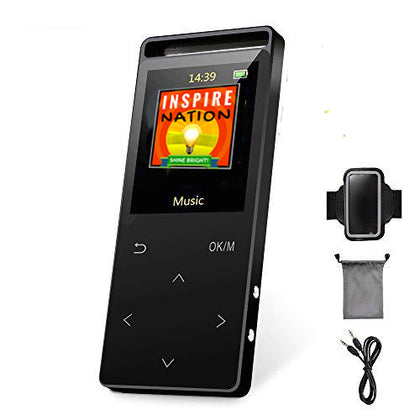 PRE-LOADED Deluxe, All-in-One 16GB MP3 Player w/Earbuds, Pedometer, Arm-Band, Car Connect...