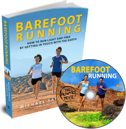 Barefoot Running DVD with FREE Complimentary Book!