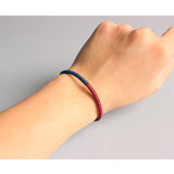 Lucky Knot Bracelets - Handmade by Tibetan Buddhist Monks! - Red / Navy / Gold Mix
