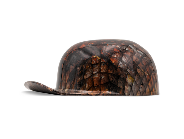 Dragon Scales DoughBoy Novelty Motorcycle Lid